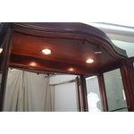 Image of Thomasville Bogart Serpentine Etched Curio Cabinet