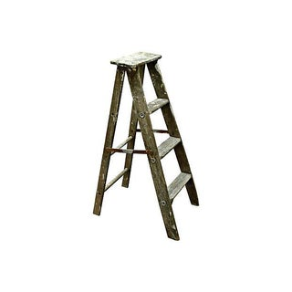 Vintage Wooden Ladder