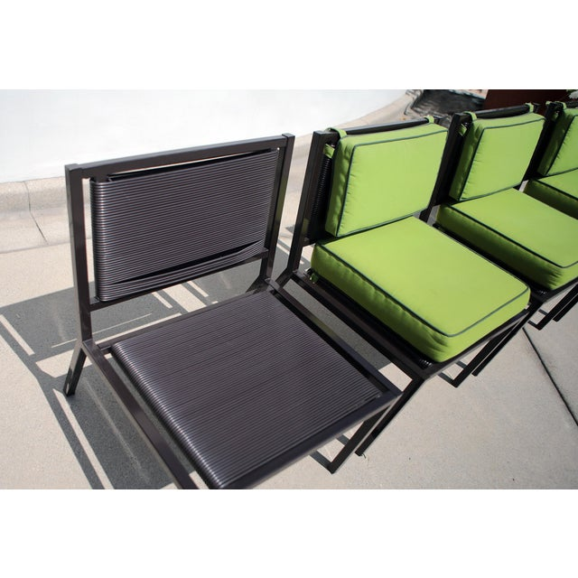 Van Keppel Green Patio Chairs - Set of 4 - Image 3 of 9