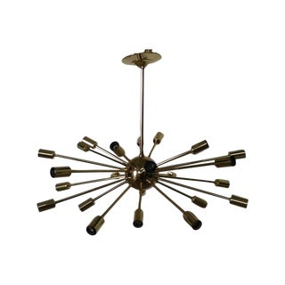 Sputnik Brass Chandelier