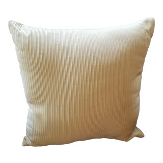 Yellow Groove Pillow