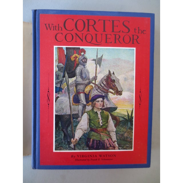 With Cortes the Conqueror, Illustrated 1st Edition - Image 3 of 7