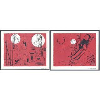 1944 Lithographs - Circus: # 48 & 71 - A Pair