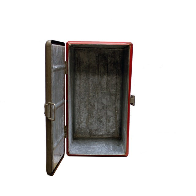 Vintage Industrial Icy Hot Cooler - Image 4 of 4