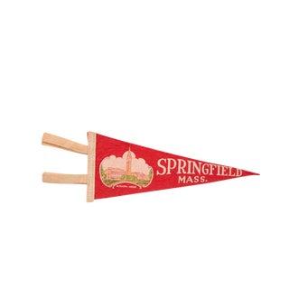 Springfield Massachusetts Felt Flag