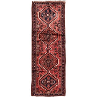 "Apadana - Vintage Persian Hamadan Rug, 3'5"" x 9'7"""
