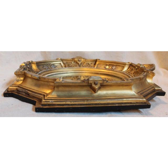 Antique Renaissance Revival Gilt Wood Mirror - Image 8 of 8