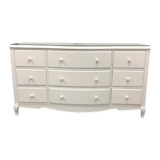 Pottery Barn Lilac Nine Drawer Dresser