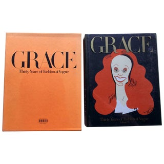 Grace, Thirty Years of Fashion at Vogue, First Edition Book in Original Box Grace Coddington