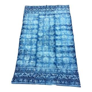 Antique Faded Batik Panel