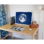 Image of Full Moon Cyanotype Print