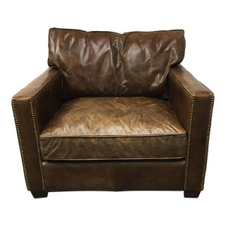 Four Hands Hemingway Chair in Cigar Leather