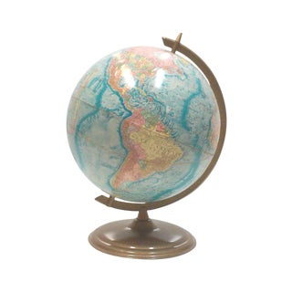 Crams Earth Profile World Globe