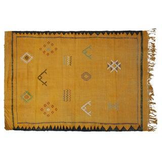 Moroccan Cactus Silk Rug - 3′4″ × 4′11″