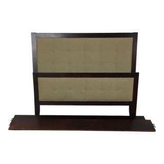 Room & Board Upholstered Queen Bedframe