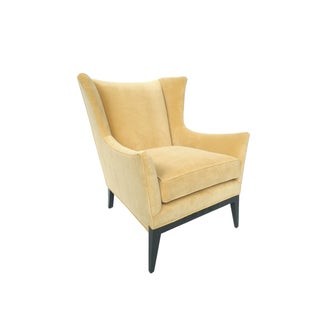 Midcentury Wingback Chair Attributed to James Mont