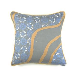Blue Cap Batik Navi Pillow