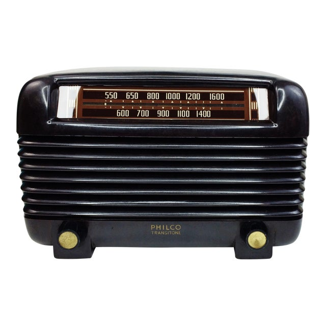 1946 Vintage Philco Transitone Tube Am Radio - Image 1 of 7