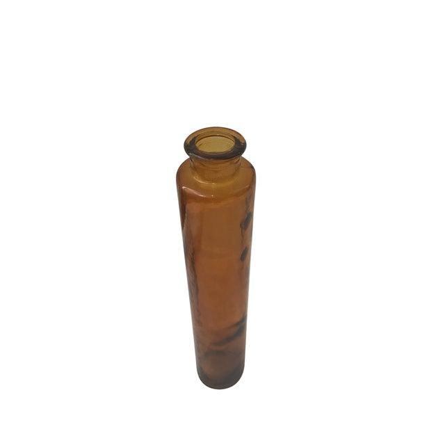 Orange Glass Vase - Image 4 of 4
