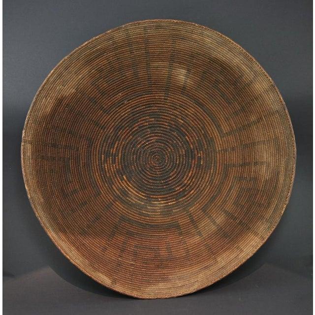 Pima Wine Basket, circa 1890 - Image 2 of 5