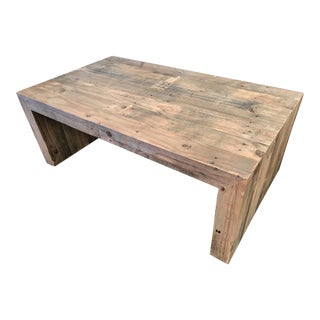 West Elm Reclaimed Wood Emmerson Coffee Table
