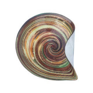 Murano Multicolor Swirl Dish