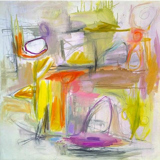 """""""The Sixties"""" Abstract Painting by Trixie Pitts"""
