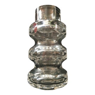 Modern Baccarat Crystal Vase
