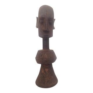 Wooden Mali Doll