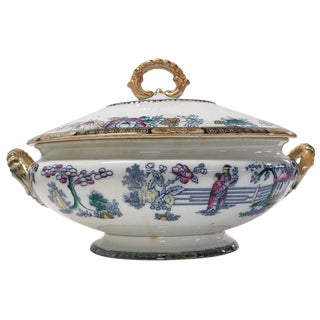 Large 19th-C. Tureen by H & C