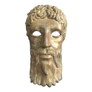 Terra-Cotta Greek Mask