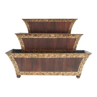 Three Tier Tole Tulipiere
