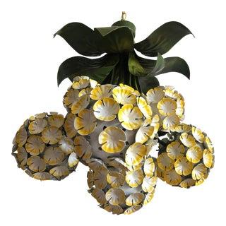 1950s Italian Hydrangeas Chandelier