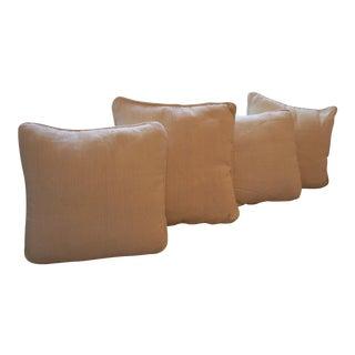 Country Style Sofa Pillows Ivory White - 4