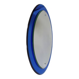 Italian Mid-Century Mirror in the Style of Max Ingrand for Fontana Arte
