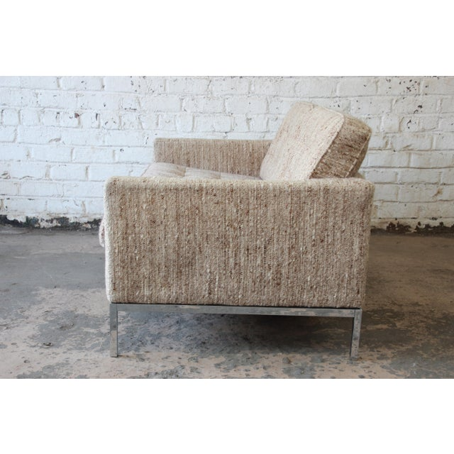 Florence Knoll Loveseat Sofa for Knoll International, 1977 - Image 7 of 11