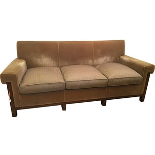 Nancy Corzine Art Deco Sofa in Mohair