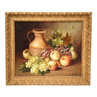 20th C. French Still Life Paintings - A Pair