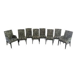 Councill Zebra Dining Chair - Set of 8