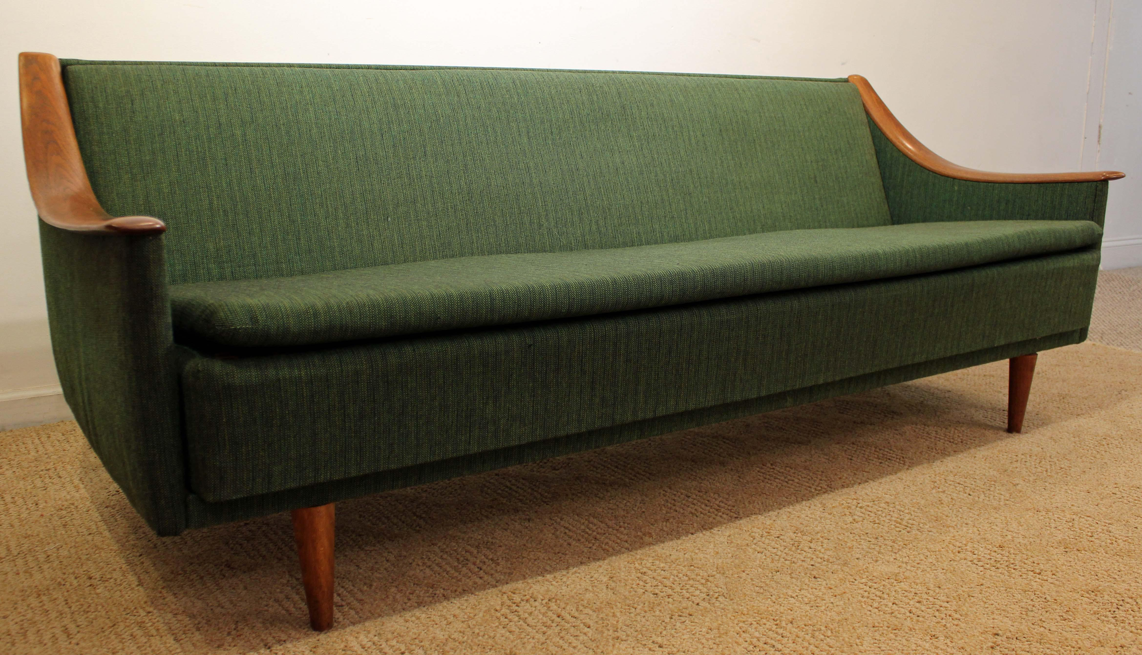 Mid Century Danish Modern Adrian Pearsall Style Sofa   Image 2 Of 11