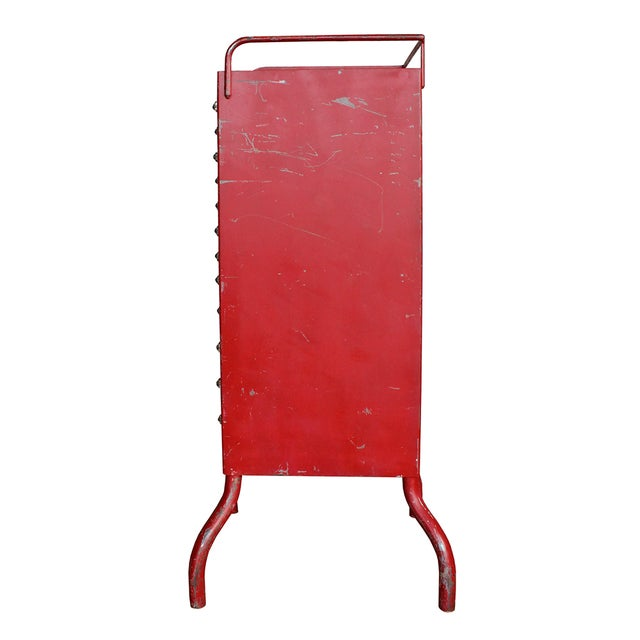Antique Red Dental Cabinet - Image 4 of 5