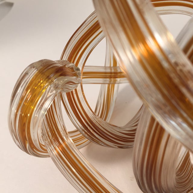 Murano Style Colored Glass Yarn Knots - Set of 4 - Image 5 of 5