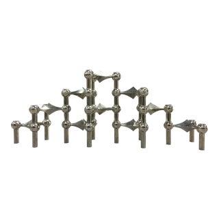 Fritz Nagel Sculptural Candle Holders - Set of 10