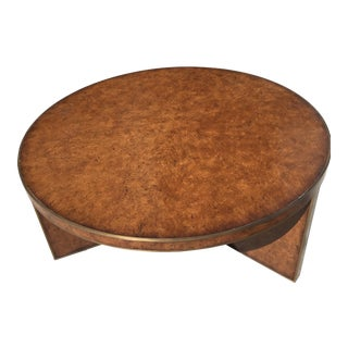 Theodore Alexander Circular Coffee Table