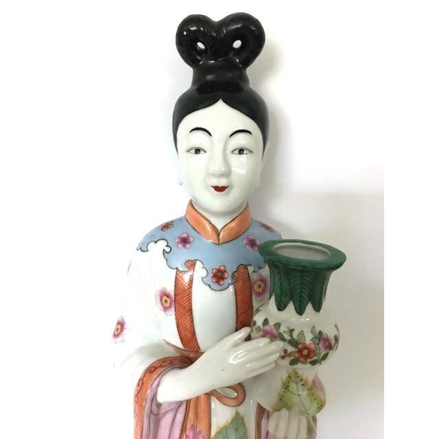 Gump's of San Francisco Vintage Oriental Candle Holder - Image 4 of 6