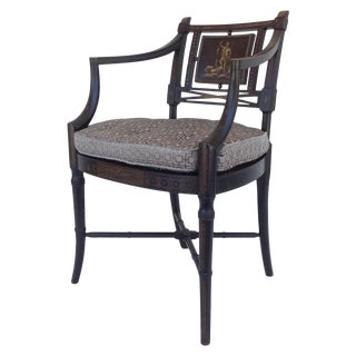 Maison Jansen Hand-Painted Regency Chair