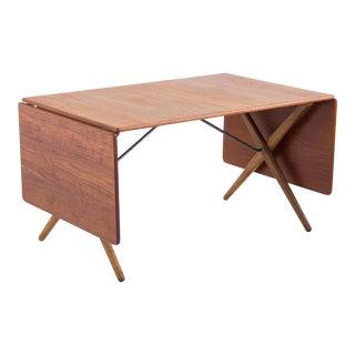 Hans J. Wegner Cross-Leg Dining Table by Andreas Tuck Model AT-309