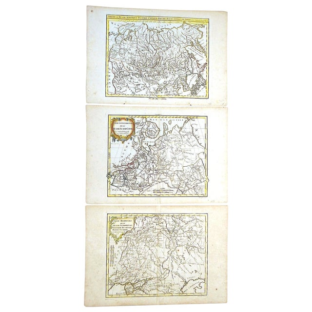 18th C. Russia, Siberia & Tartary Maps- Set of 3 - Image 1 of 5