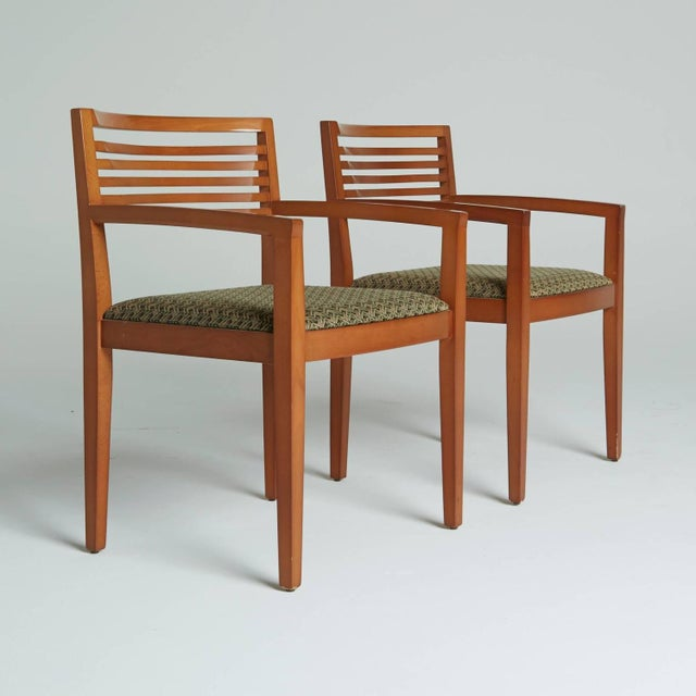 Ricchio Knoll Armchairs - Pair - Image 2 of 7