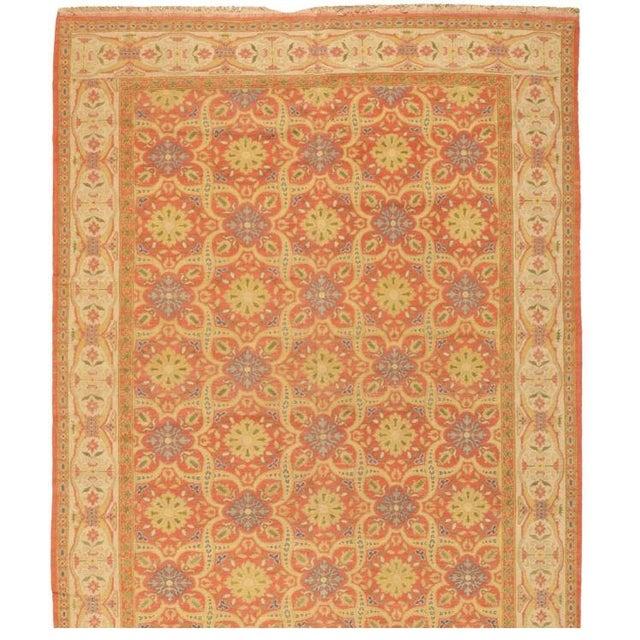 Antique Spanish Cuenca Carpet - Image 1 of 1